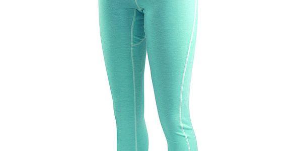 Dámské modrozelené funkční spodní kalhoty Hannah