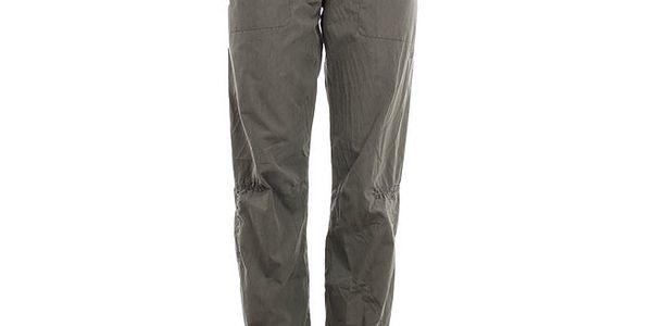 Dámské hnědozelené kalhoty Hannah