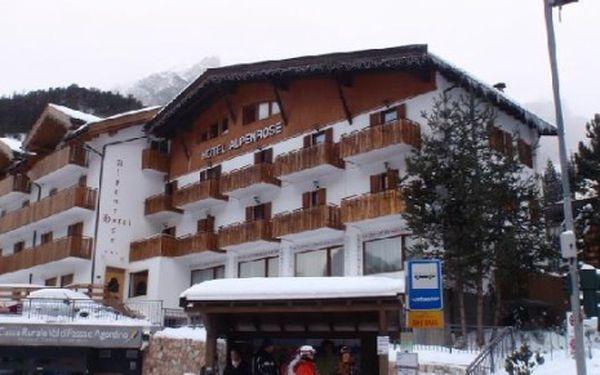 Itálie, oblast Val di Fassa e Carezza, polopenze, ubytování v 3* hotelu na 8 dní