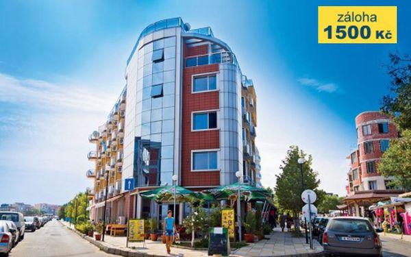 Bulharsko, oblast Primorsko, letecky, snídaně, ubytování v 3* hotelu na 11 dní