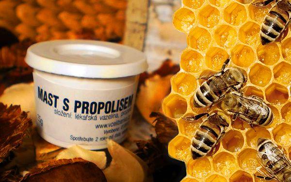 Propolisová mast přímo od včelaře