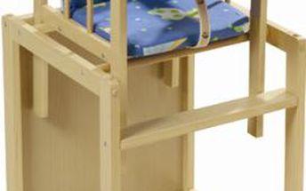 Kombinovaná dětská židlička