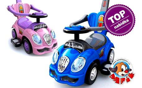 Pafíkovo veselé autíčko 3v1 pro děti
