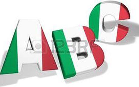 16 lekcí italské konverzace pro středně pokročilé B2 - čtvrtek 17:30-19:00