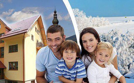 Ubytování v horském apartmánu až pro 6 osob! Vezměte celou svou rodinu či přátelé a užijte si dovolenou v překrásných Jeseníkách za neuvěřitelnou cenu. Platnost poukazů až do konce srpna 2015!