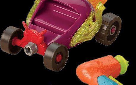 B.toys originální stavebnice závodní auto Multicolor