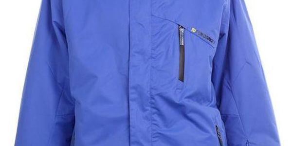 Pánská modrá funkční bunda Fundango