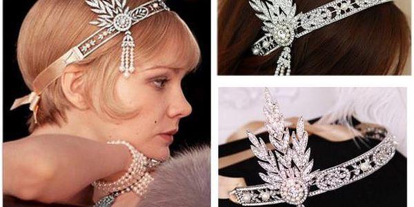 Čelenka do vlasů Gatsby - proměňte se v krásnou Daisy!