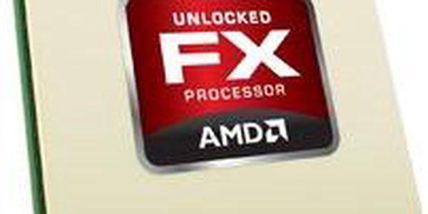 Výkonný šestijádrový 64bitový (AMD64) procesor AMD FX-6100