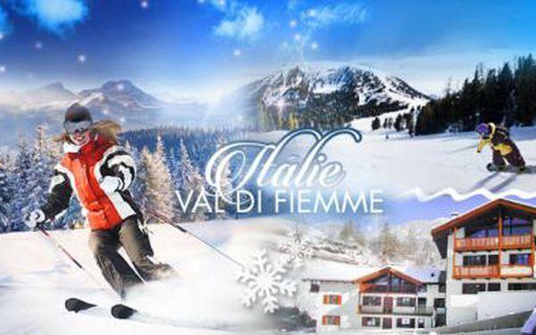 ČTYŘI dny pro 4 osoby se SNÍDANÍ v prestižním lyžařském středisku Val di Fiemme v Itálii! Útulné apartmány!