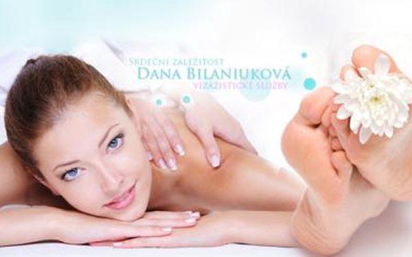 Aromaterapeutická masáž s reflexní masáží chodidel v délce 60 minut! Relaxujte a nechte se hýčkat!