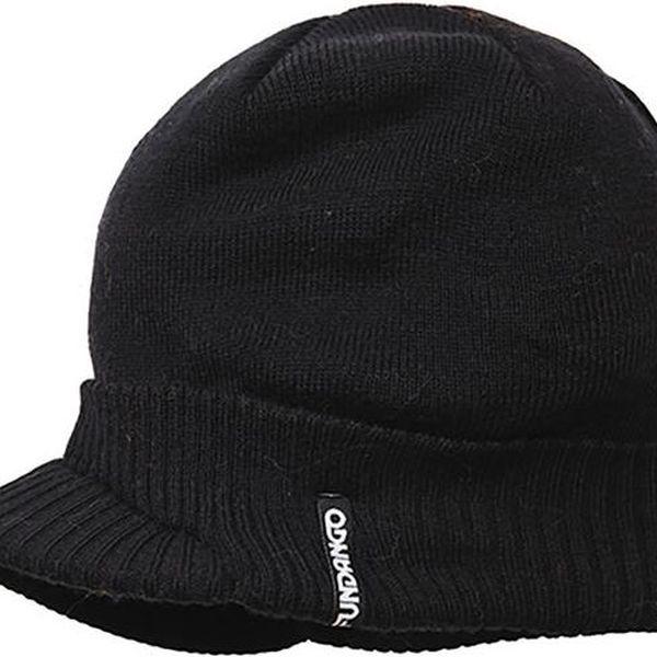 Černá čepice s kšiltem Fundango