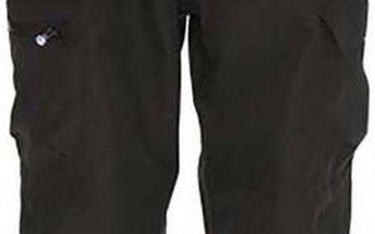 Pánské černé snowboardové kalhoty s odepínacími šlemi Kilpi