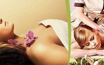 120minutová regenerační kúra - luxusní masáž celého těla (dle vlastního výběru) + zábal celého těla + sauna
