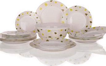 Moderní 19-dílná sada nádobí Amely