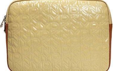Dámské lesklé pouzdro na laptop DKNY