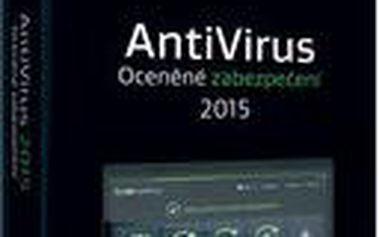 Nová verze výkonného bezpečnostního softwaru AVG Antivirus 2015 - 1 licence 24 měsíců BOX