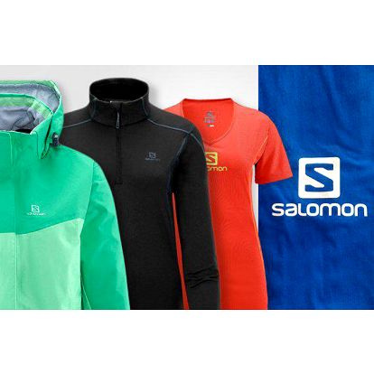Salomon – výprodej dámského sportovního oblečení