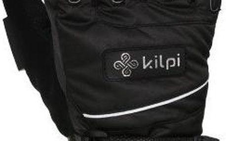 Dámské černé lyžařské rukavice Kilpi