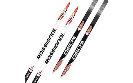 Výkonné běžecké lyže Rossignol Delta Classic Nis