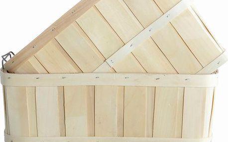 Set dřevěných košíků Storage, 2 ks