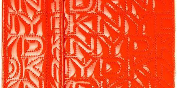 Oranžové pouzdro na iPad DKNY