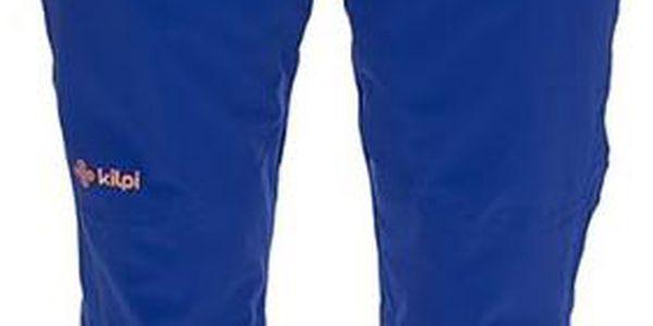 Pánské modré lyžařské kalhoty s kšandami Kilpi