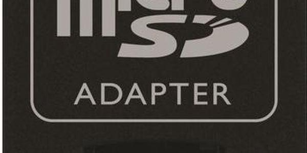 Paměťová karta typu microSDHC Kingston Mobility Kit G2 4GB Class 10 + adaptér, USB čtečka