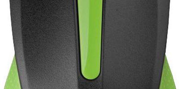 Bezdrátová myš kompaktních rozměrů C-TECH WLM-01, zelená - WLM-01G