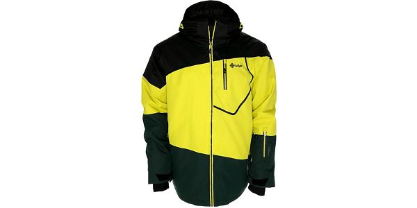 Pánská žluto-černá snowboardová bunda Kilpi