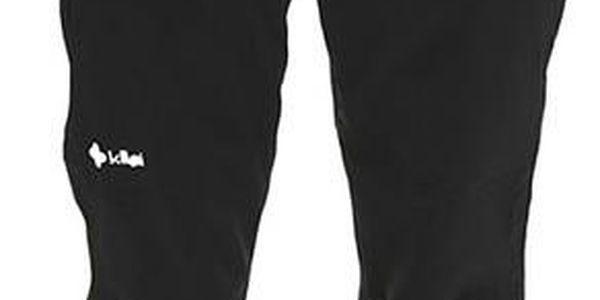 Pánské černé lyžařské kalhoty s kšandami Kilpi