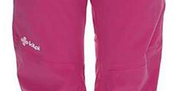 Dámské růžové lyžařské kalhoty se šlemi Kilpi