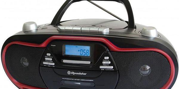 Kazetový přehrávač Roadstar RCR-4730U/RD