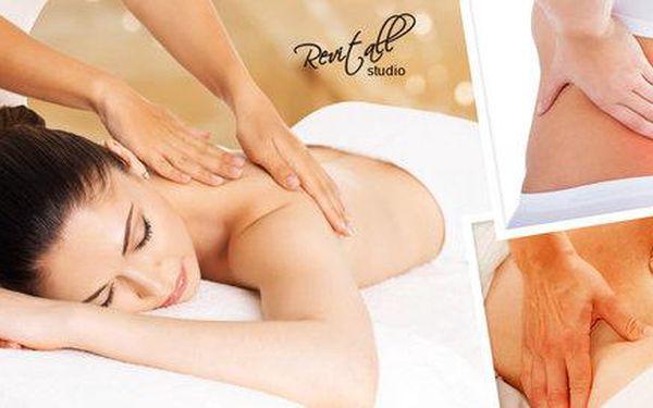 60 minut zdravotní masáže proti bolesti zad