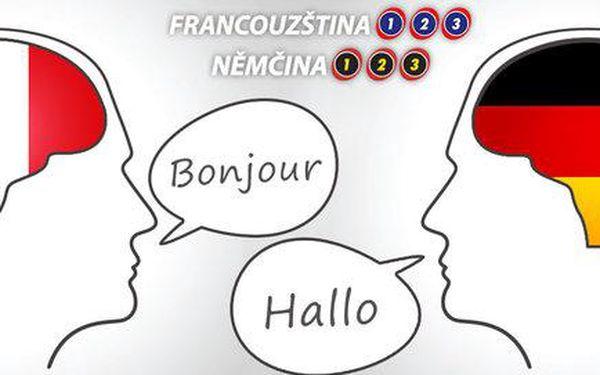 English 123 a Nemcina 123 a Francouzstina 123