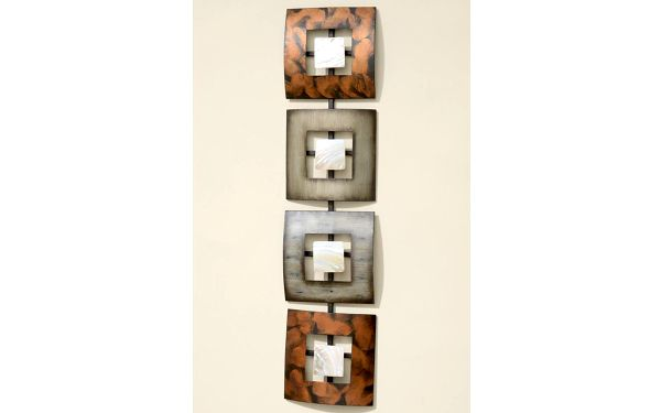 Nástěnná dekorace Elliot, 18x78 cm