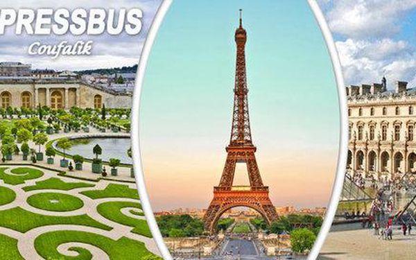 5denní zájezd do Paříže, Versailles i Remeše