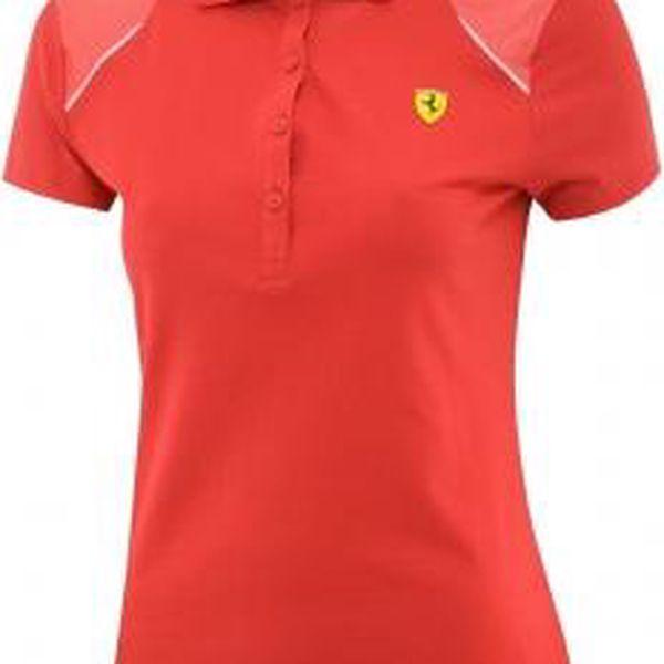 Elegantní dámské Ferrari tričko s límečkem Puma SF POLO