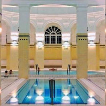 Budapešt se vstupem do lázní Széchenyi v komfortním hotelu