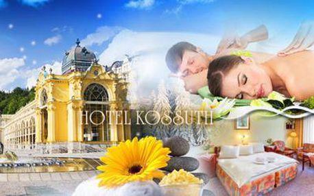 WELLNESS pobyt s POLOPENZÍ pro 2 osoby! Skvělá relaxace na 3 nebo 4 dny v hotelu*** v Mariánských Lázních!