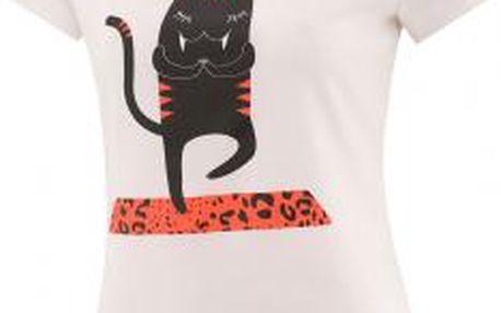 Dámské triko adidas YOGA CAT bílá XS
