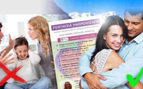 PSYCHOTERAPIE! 90min. psychická harmonizace osobnosti + terapie zaměřená na problematický vztah!
