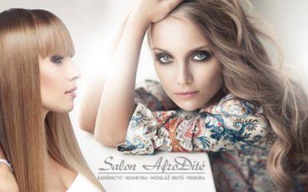 KADEŘNICKÉ BALÍČKY pro dámy v Salonu Afrodité! Střih, barva nebo melír pro krásné vlasy!