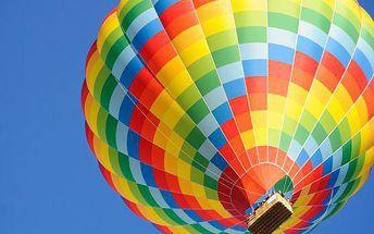 60minutový vyhlídkový let balonem v rámci celé ČR a SR až pro 16 osob