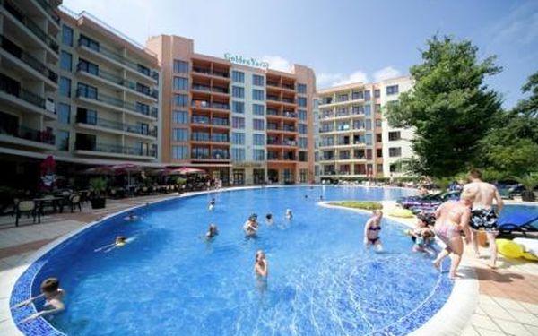 Bulharsko, oblast Zlaté Písky, letecky, bez stravy, ubytování v 4* hotelu na 8 dní