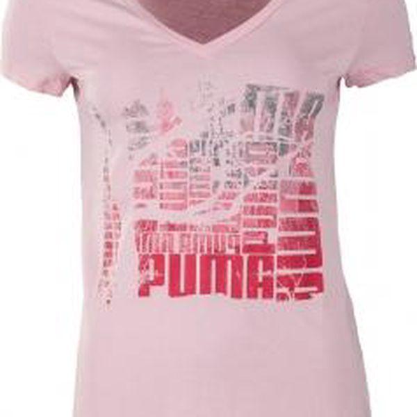 Dámské triko Puma SPORTSCASUAL TOP LA růžová