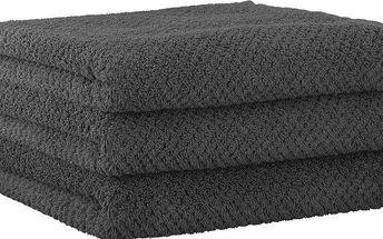 Kvalitní ručníky světoznámé značky s.Oliver 3ks, 50x100 cm