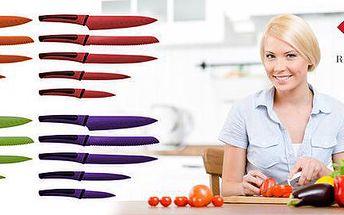 5dílná sada barevných nerez nožů Renberg