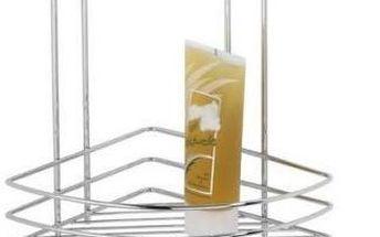 Wenko praktická rohová koupelnová polička