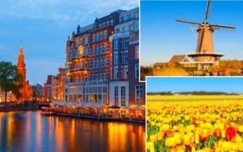 4denní zájezd do HOLANDSKA s ubytováním. Nechte se pohltit kouzelnou atmosférou!